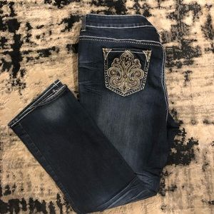 Hydraulic woman's plus size jeans
